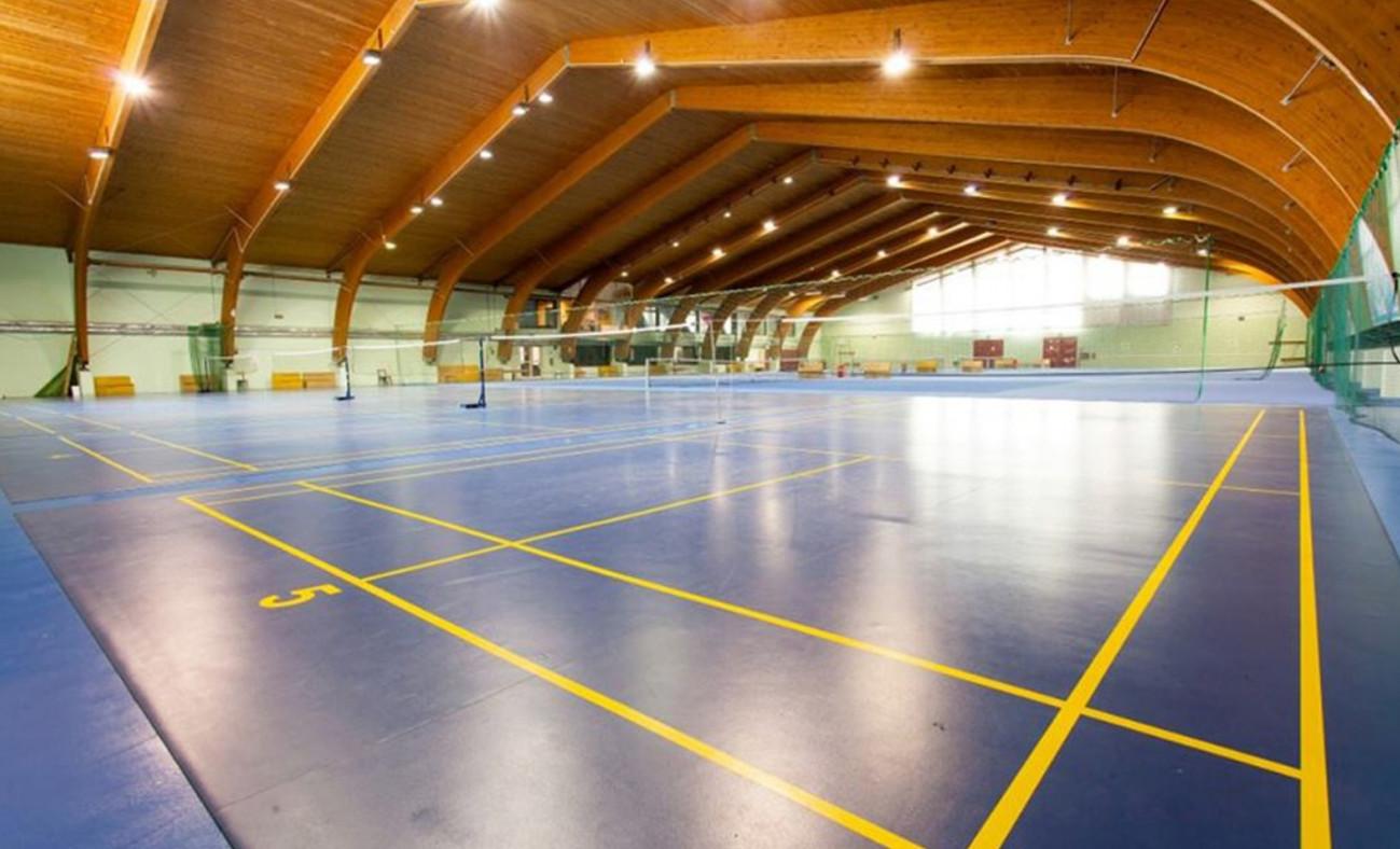 Badminton v Centru Harmonija