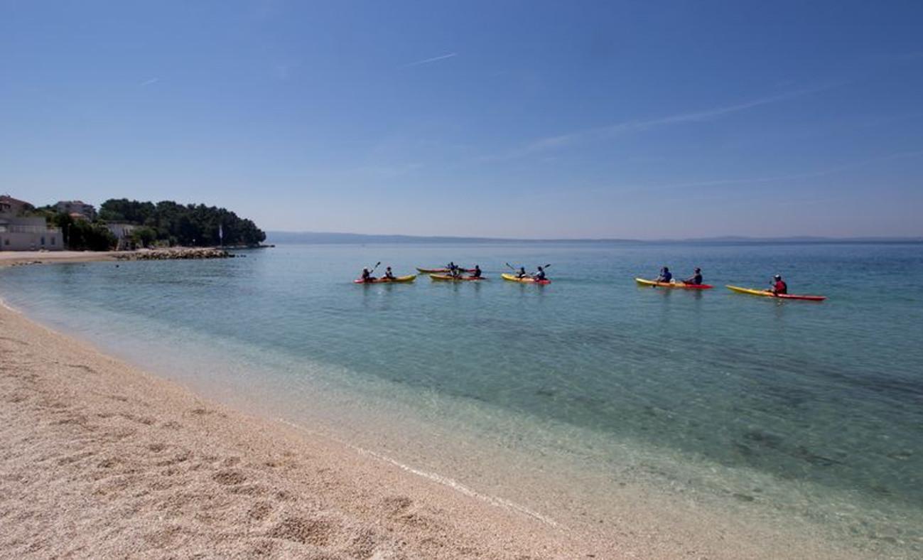 Sea Kayaking in Canyoning Iris Adventures