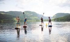 Rafting in supanje v Bohinju
